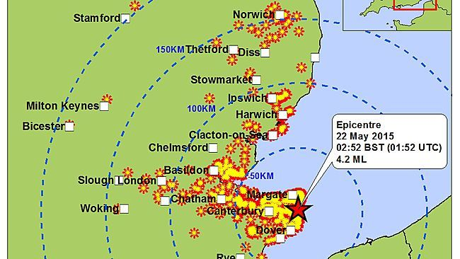 Strongest Earthquake in Seven Years Rattles Southeast England | TheSurvivalPlaceBlog