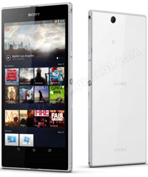 Smartphone SONY Xperia Z Ultra blanc #white