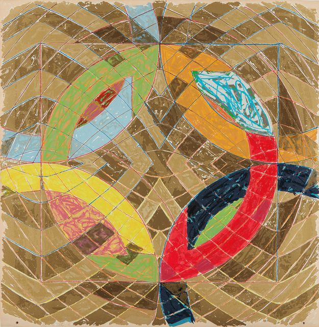 Frank Stella, 'Polar Coordinates VI, from Polar Co-ordinates for Ronnie Peterson', 1980, Phillips: Editions and Works on Paper (April 2017) | Artsy