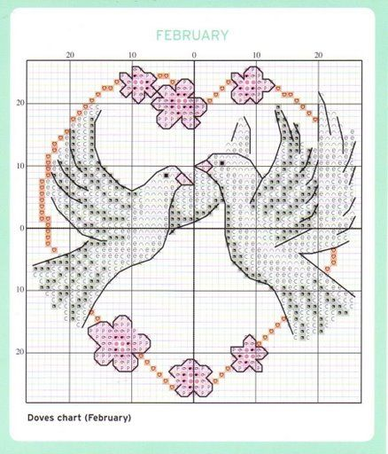 love dove cross stitch