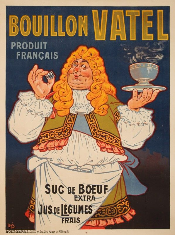 Bouillon Vatel - 1911 - (Eugène Ogé) -