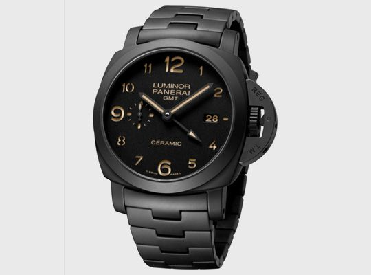 "Officine Panerai PAM 438 ""Tuttonero"" GMT Ceramic watch"