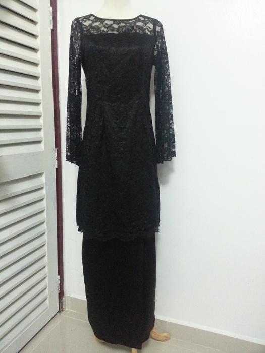 Black Lace Baju Kurung