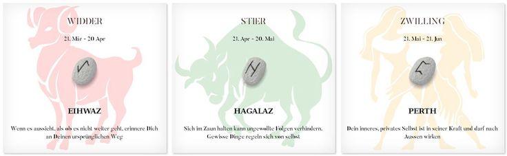 Runen Tageshoroskop 9.7.2017 #Sternzeichen #Runen #Horoskope #widder #stier #zwilling