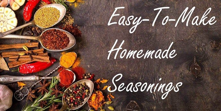 Healthy Living: How To Making Your Own Seasonings
