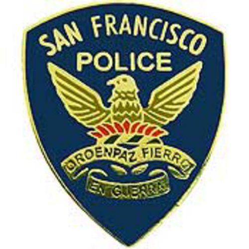 "San Francisco Police Pin 1"" by FindingKing. $8.99. This is a new San Francisco Police Pin 1"""