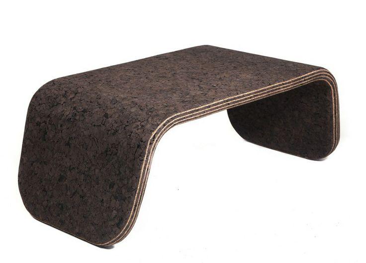 Amazing Layer #coffee #table   Toni Grilo #cork Nice Design