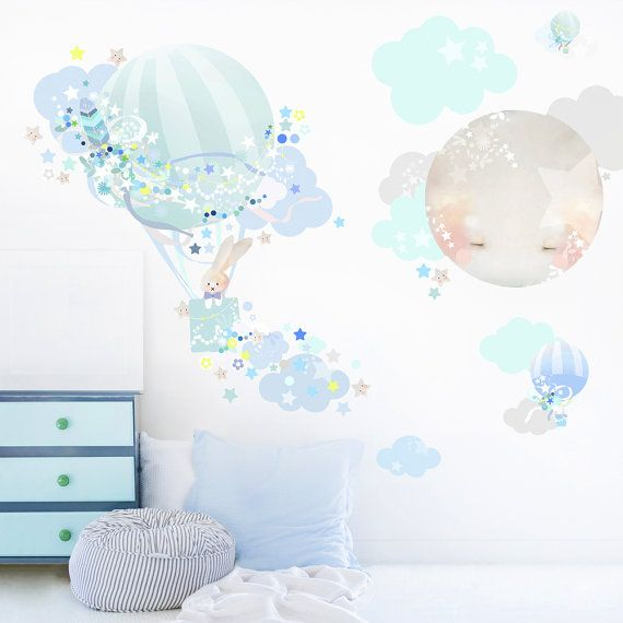 *** IMPORTANT! Please leave your best contact number in Message to Seller when checking out. Many thanks! *** A stripy mint balloon in star sprinkled