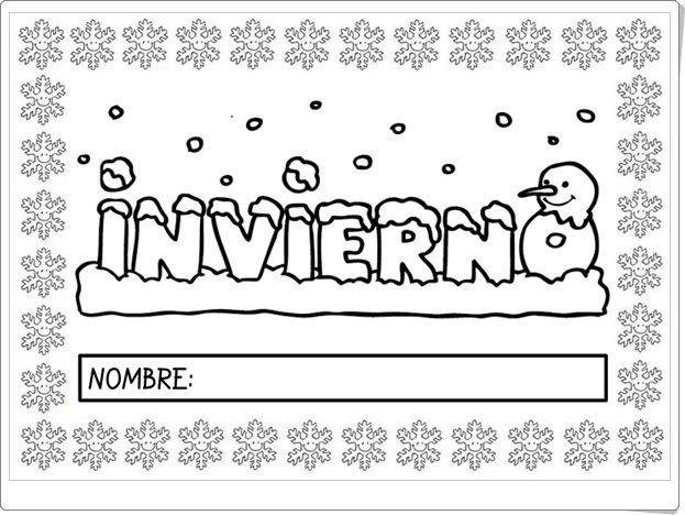 El libro del Invierno (Plastificandoilusiones.blogspot.com.es)