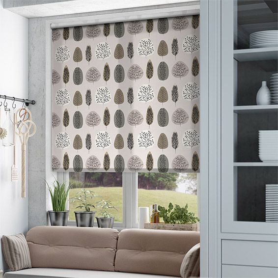 Wildleaf Natural Roller Blind from Blinds 2go