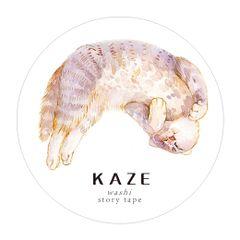 【MTang】【KAZE】翻滚吧喵星人 原创和纸胶带手帐循环分装