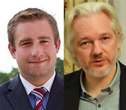 Pictured: Murdered DNC staffer Seth Rich (left) and Wikileaks founder Julian…
