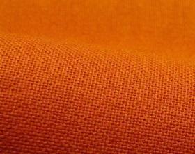Bachette orange brûlée - Un tissu résistant et de qualité : 16,83 € le m, en 280 cm de large