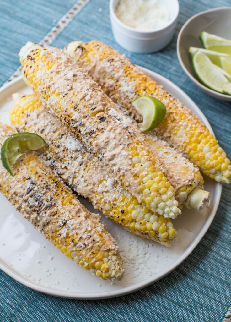 Mexican Grilled Corn / Sarah Crowder / Katie Workman / themom100.com