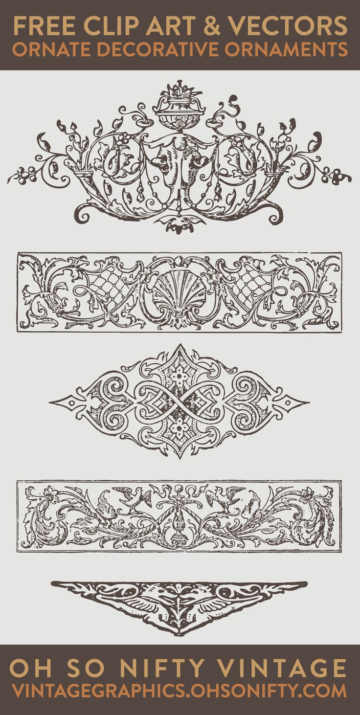 vector art, free vectors, vector images, ornaments vector, vector ornaments…