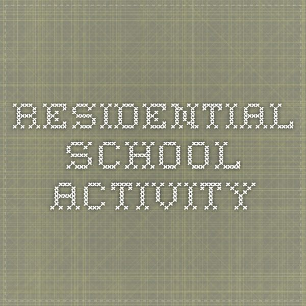 residential school activity