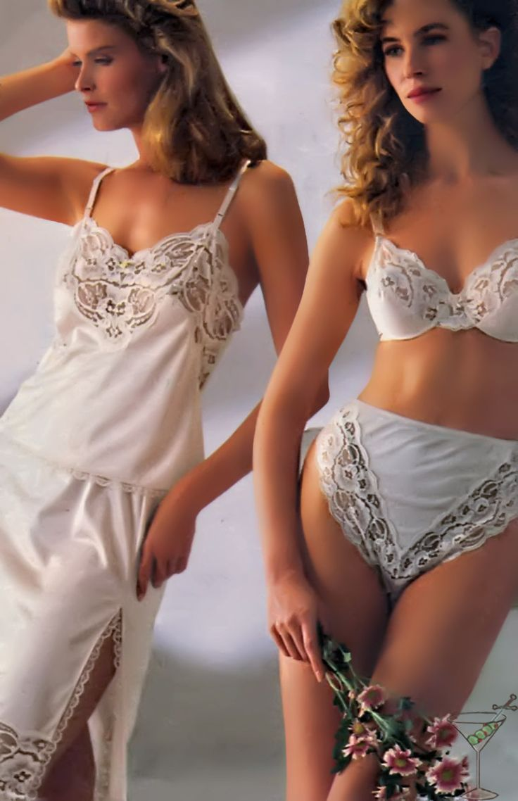 Vintage Catalog And Retro Lingerie Located On The Corner