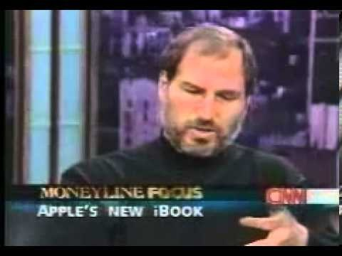Steve Jobs TV interview about iBook launch (1999)