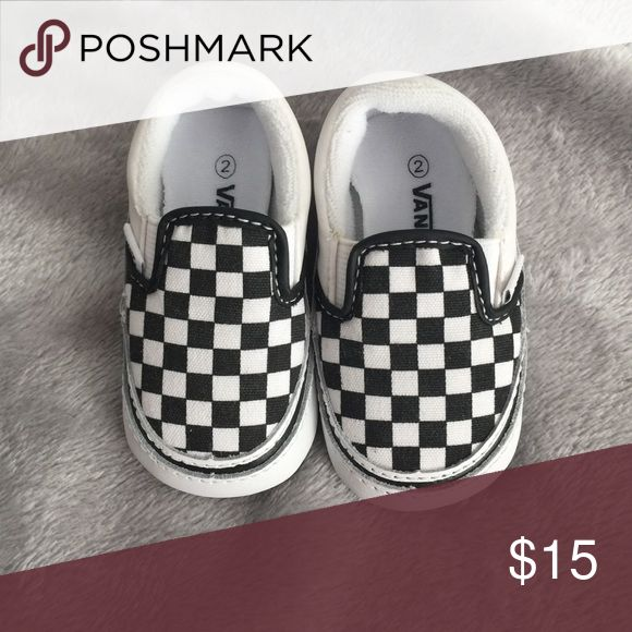 Infant vans Infant van shoes that have never been worn . Vans Shoes Sneakers