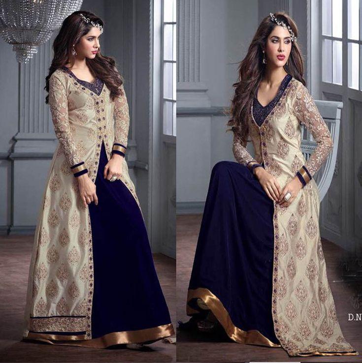 Anarkali Salwar Kameez Shalwar Indian Bollywood Party Wear Velvet Dress Material | Clothing, Shoes & Accessories, Cultural & Ethnic Clothing, India & Pakistan | eBay!