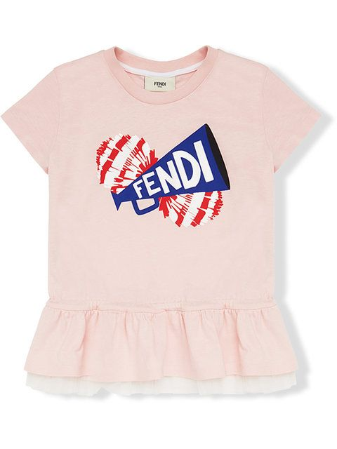658a772e Fendi Kids logo printed blouse   Kids' Clothing, Shoes, Accessories ...