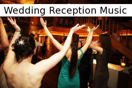 Plan Your Wedding Reception Music Step-by-Step: listed at bottom of page