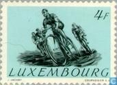 Timbres-poste - Luxembourg - Jeux olympiques #cyclisme