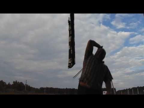 Рубка пучков на веревке(15 и 21 лозы).краткий видео-обзор рубки от 21.07...