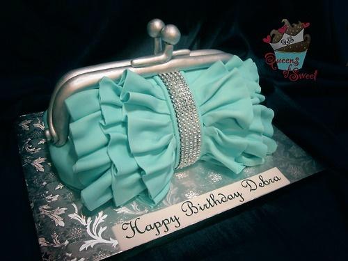 tiffany bag cake My next cake