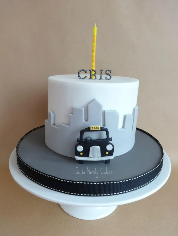 Taxi!!! - Cake by Julia Hardy