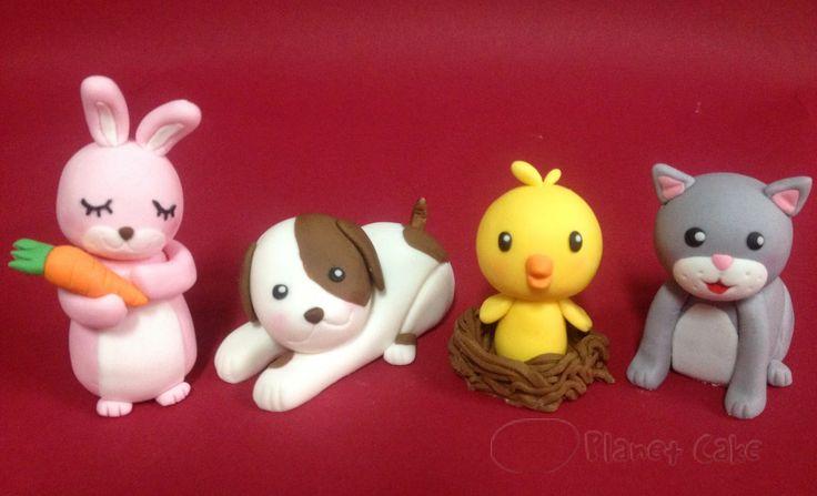 Cute fondant animals. Planet cake Gorgeous cakes ...