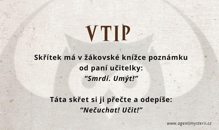 S úsměvem na rtech  #vtip #agentimysterii #zábava
