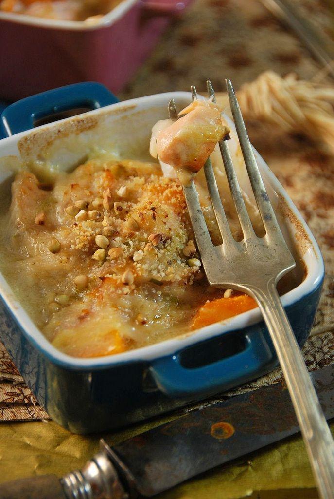 Cassolette de poisson au four et petits légumes // Baked fish casserole with vegetables