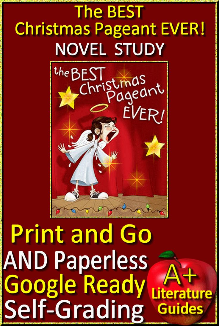 Digital Resource - Free up your time with The Best Christmas Pageant Ever, a 120 page Common-Core Aligned Complete Novel Study Guide. It can be used with or without Google Drive (Paperless OR Print and Go) This guide can be used as a Print and Go, but also utilizes Google Docs for Chapter Questions, Google Slides with interactive movable parts for Story Elements and Grammar, and Self-Grading Assessments through Socrative. Great for centers! This literature guide has everything that you will…