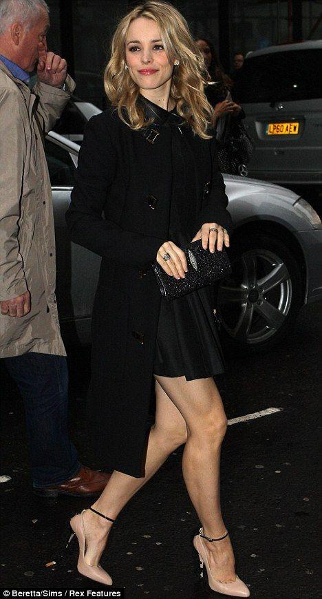 Rachel McAdams is so fabulous! One of the most beautiful women.