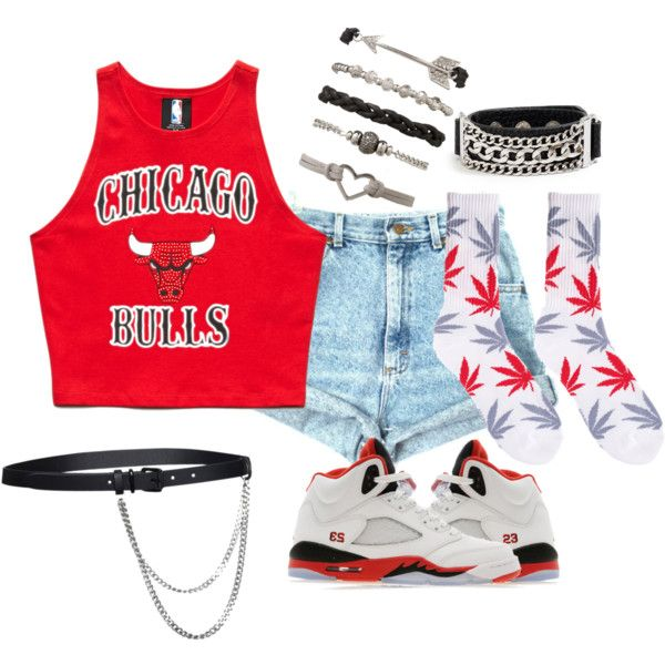 Chicago bulls outfit!