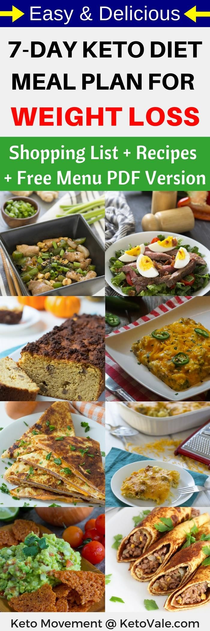 We are giving away a 7-Day Keto Diet Weight Loss Meal Plan, check part 2 of this page for more!