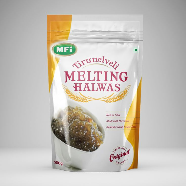 New Logo and Packaging for Melting Foods India and Tirunelveli Melting Halwas