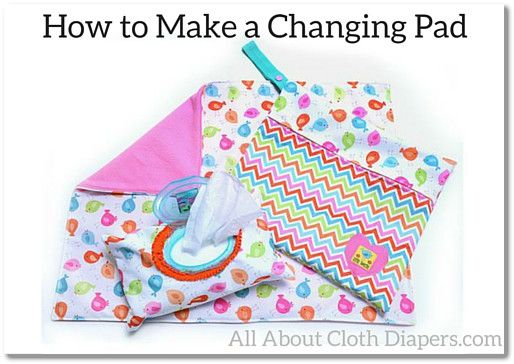 Here is another post from my friend Ellie over at Babyville Boutique. I'm more of a sewing for dummies kind of girl so I leave the expert sewing advice here on the blog to her. Although I have recently started my first project... a matching pair of espadrilles for Sophia and I. Anyway, here's Ellie with directions on making an adorable waterproofed back changing pad along with links to matching wipes case cover and wet wipes bag.