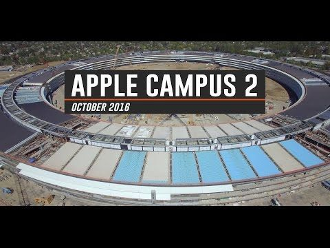 ▶ ••Apple Mothership Campus II: Construction update 2016-10-02 from Drone ; )•• 4:12min bird's eye view video from drone DJI Phantom 3 Pro by Matthew Roberts • see video Sep https://youtu.be/kFQsu5bdPXw + big change from 2015-09 https://www.pinterest.com/pin/269160515206858352/