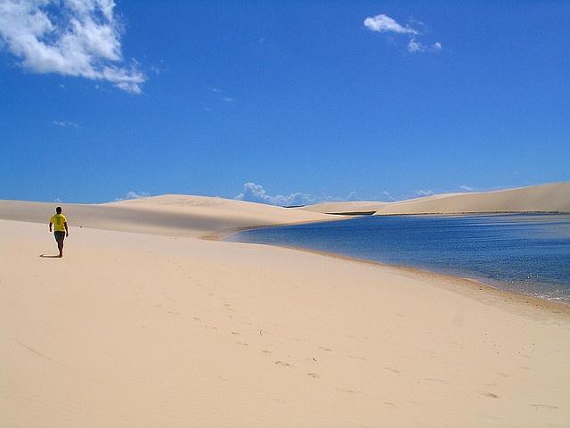 世界遺産 レンソイス・マラニャンセス国立公園  (ブラジル)