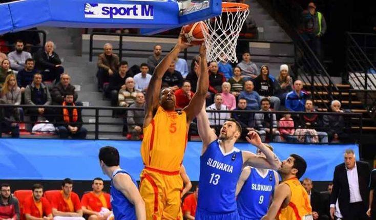 Macedonia beats Slovakia in Eurobasket qualifier
