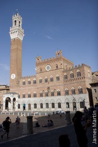 Siena Picture: Siena's Palazzo Pubblico and the Torre Del Mangia