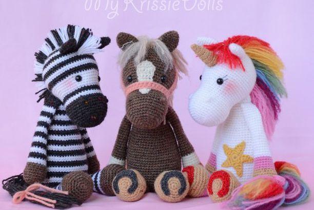 Emmie Eenhoorn – Free Pattern (Crochet For Children)
