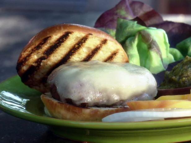 Recipe courtesy of Guy Fieri Show: Guy's Big Bite Episode: Guy's Backyard Bites: Green Chile Cheeseburgers  Get Green Chile Cheeseburgers Recipe from Food Network