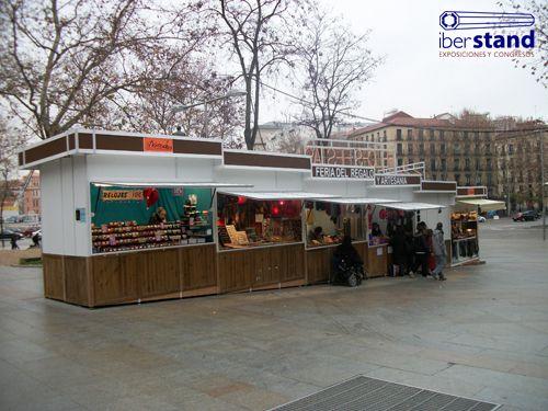 Las 25 mejores ideas sobre stands para ferias en for Kioscos de madera baratos