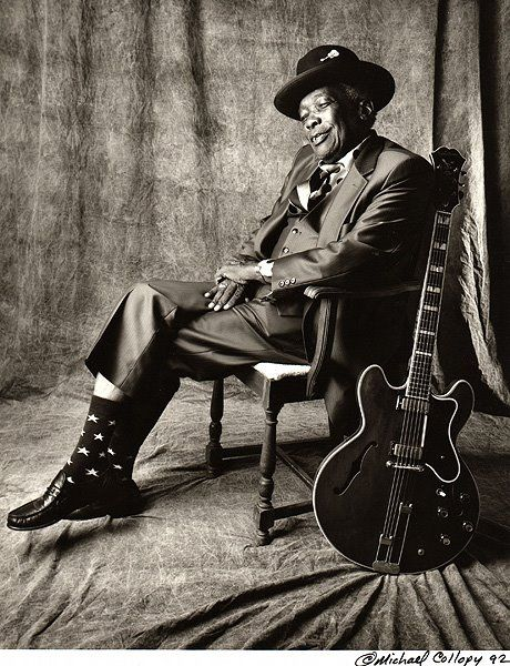 John Lee Hooker -- known for Blues, however, he spans many genres of music. Personally, I just love his singing in all contexts. Michael Collopy Photography