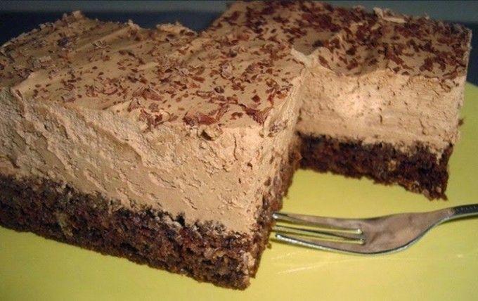 Extra čokoládový koláč