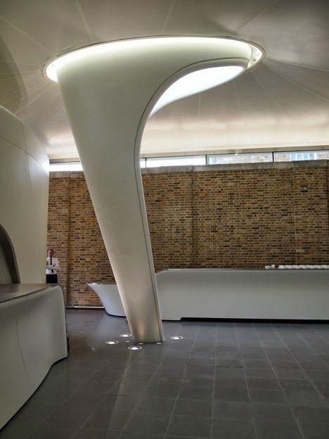 Sistemas de Fachadas | Galería Sackler Serpentine recientemente inaugurada en Londres | http://sistemasdefachadas.com