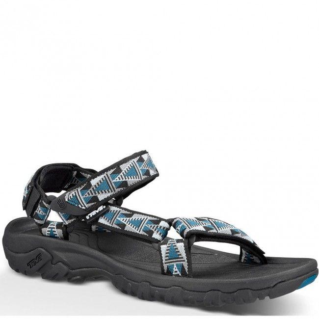 4156-MBBL Teva Men's Hurricane XLT Sandals - Mosaic Black/Blue www.bootbay
